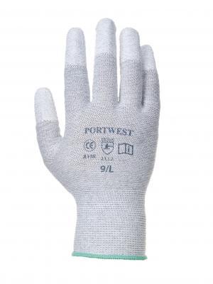 ANTISTATIC FINGERTIP rukavice máčané