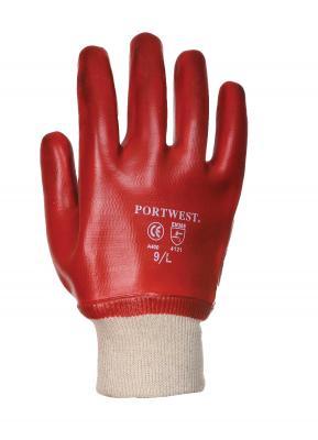 A400 PVC rukavice máčané