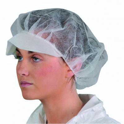 Jednorazová PP čiapka s krátkym šiltom (balenie 4000 ks)