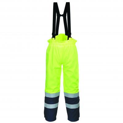 Nohavice na traky Bizflame Multi Arc Hi-Vis
