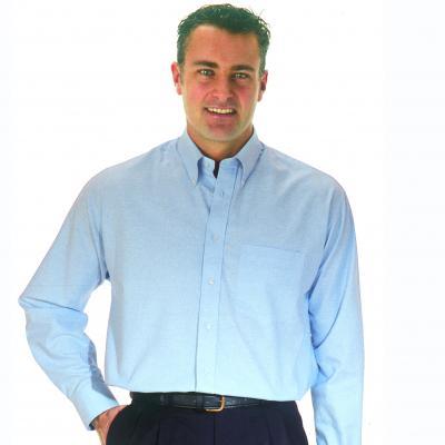 Košeľa Oxford s dlhým rukávom