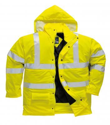 SALTEX ULTRA zateplená bunda do dažďa reflexná