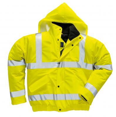 SALTEX ULTRA BOMBER zateplená bunda do dažďa reflex