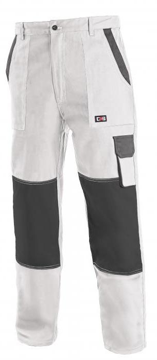 a2bd5701c4ab LUX JOSEF montérkové nohavice do pása