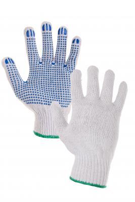 FALO rukavice pletené s PVC terčíkmi