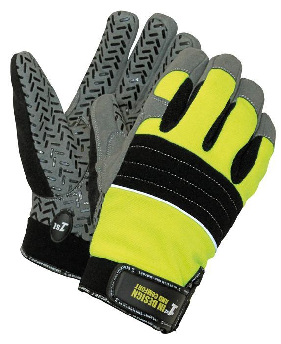 1st GRIP rukavice kombinované