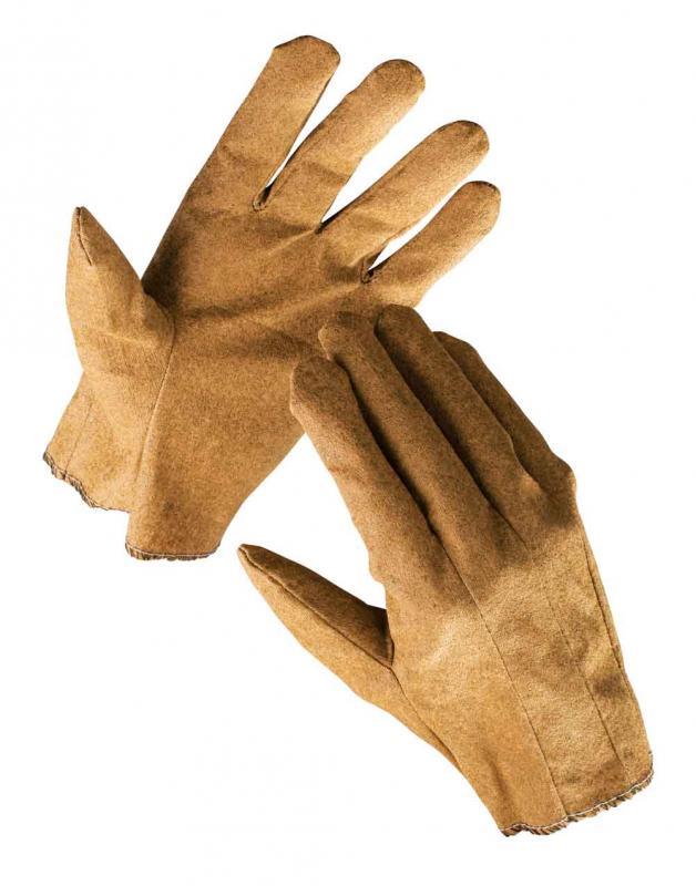 EGRET rukavice textilné povrstvené