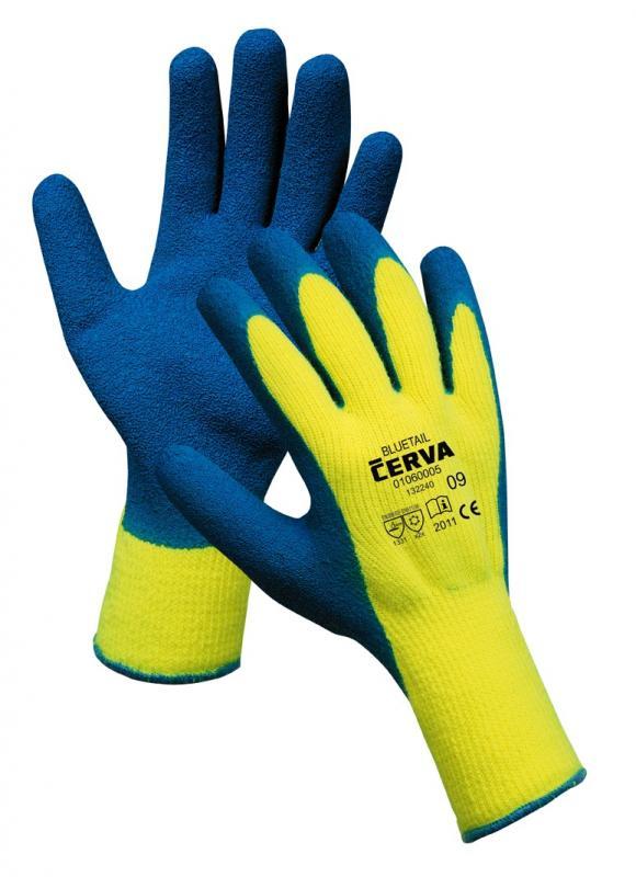 BLUETAIL rukavice máčané zateplené