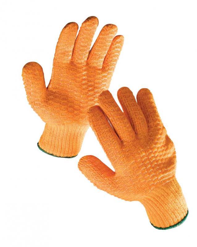 FALCON rukavice textilné povrstvené
