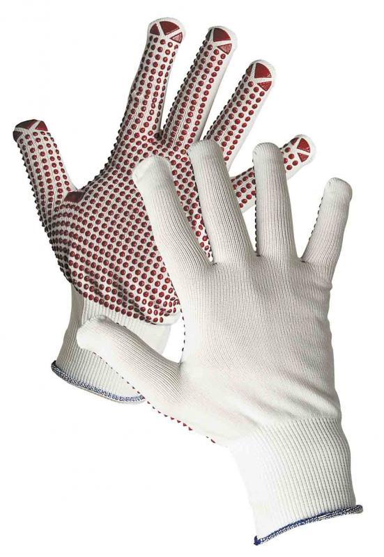 GANNET rukavice textilné povrstvené