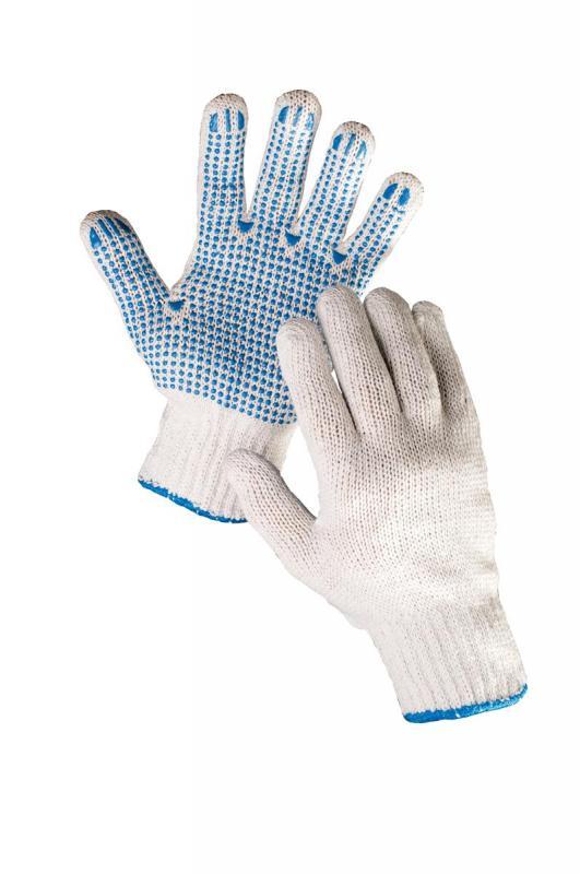 HS-04-011 rukavice textilné povrstvené