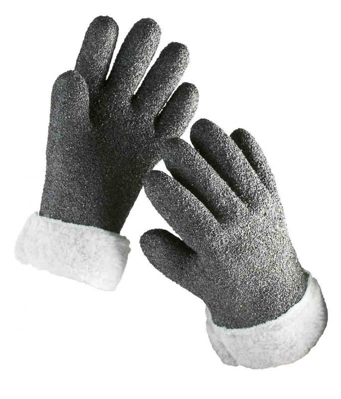 ALASKA rukavice zateplené so zdrsneným povrchom