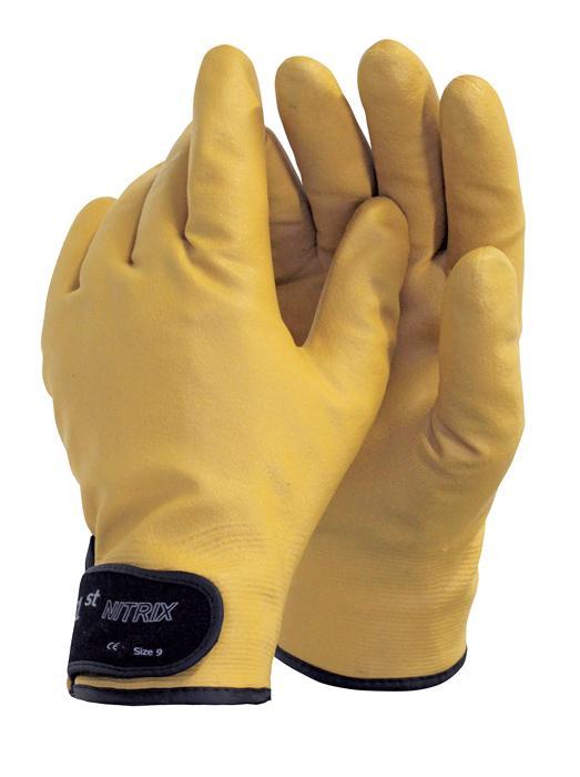 1st NITRIX rukavice máčané zateplené
