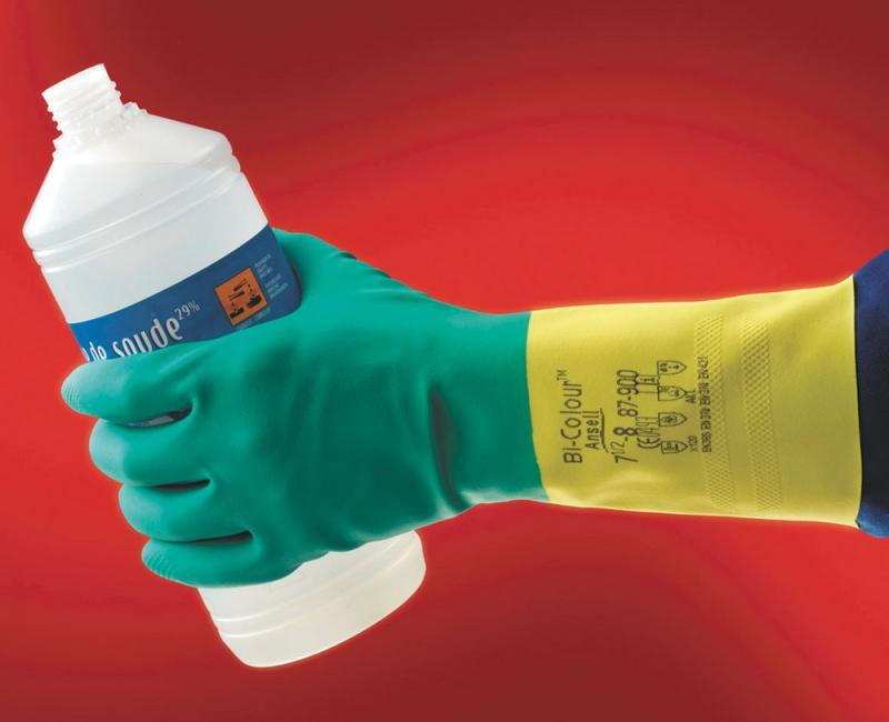 BI-COLOUR TM 87-900 rukavice chemické