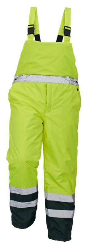 PADSTOW zateplené nohavice s náprsenkou