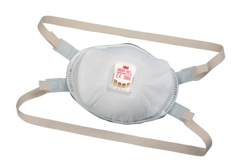 3M 8835 FFP3 respirátor(balenie 1ks)