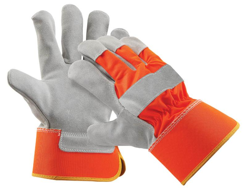 CURLEW rukavice kombinované koža/textil