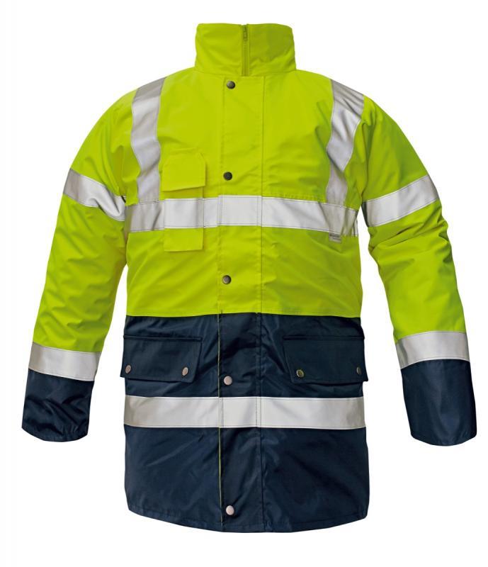 BIROAD zateplená bunda 3v1 reflexná
